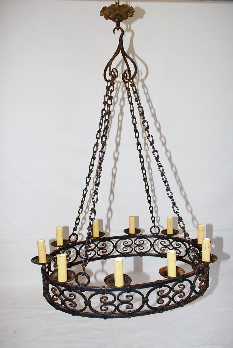 12 ideas of antique french chandeliers large antique french wrought iron chandelier at 1stdibs for antique french chandeliers 11 of arubaitofo Gallery