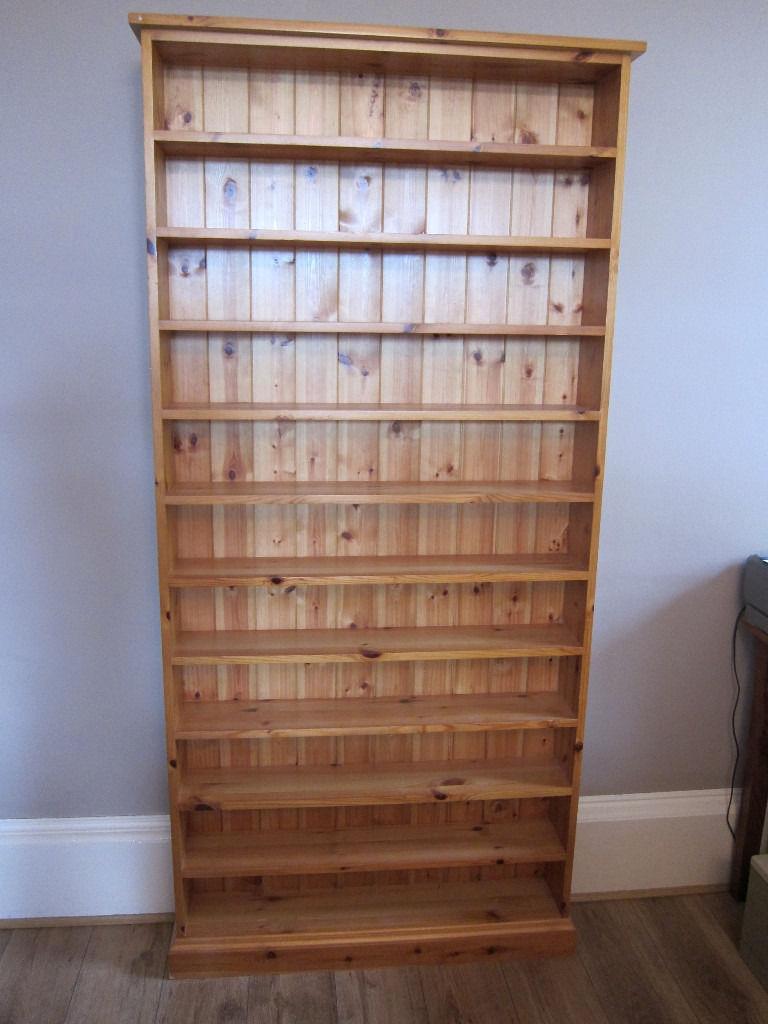 Large Bespoke Pine Cd Storage Shelves 1000 Cd Capacity Approx Regarding Bespoke Cd Storage (#11 of 15)