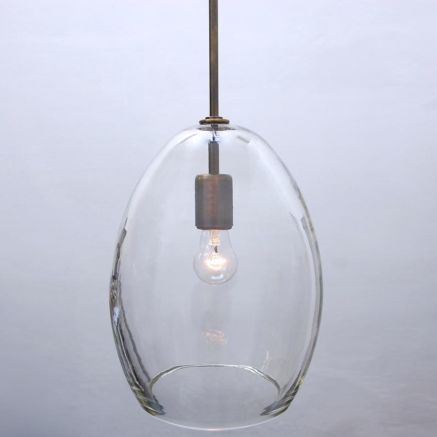 Large Glass Drop Pendant Vintage Chandeliers At Lumfardo Inside Large Glass Chandelier (#8 of 12)