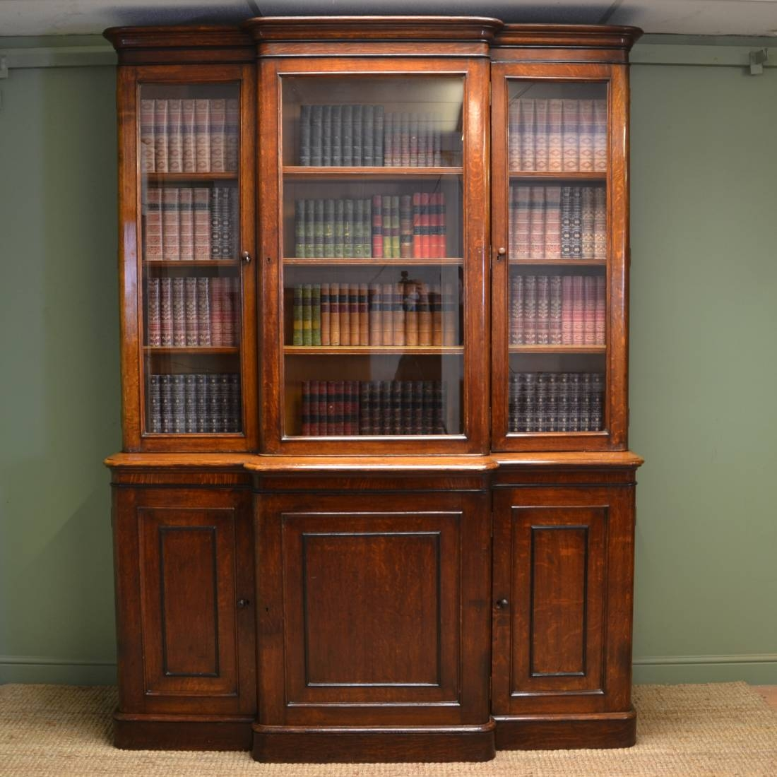 Popular Photo of Oak Library Bookcase