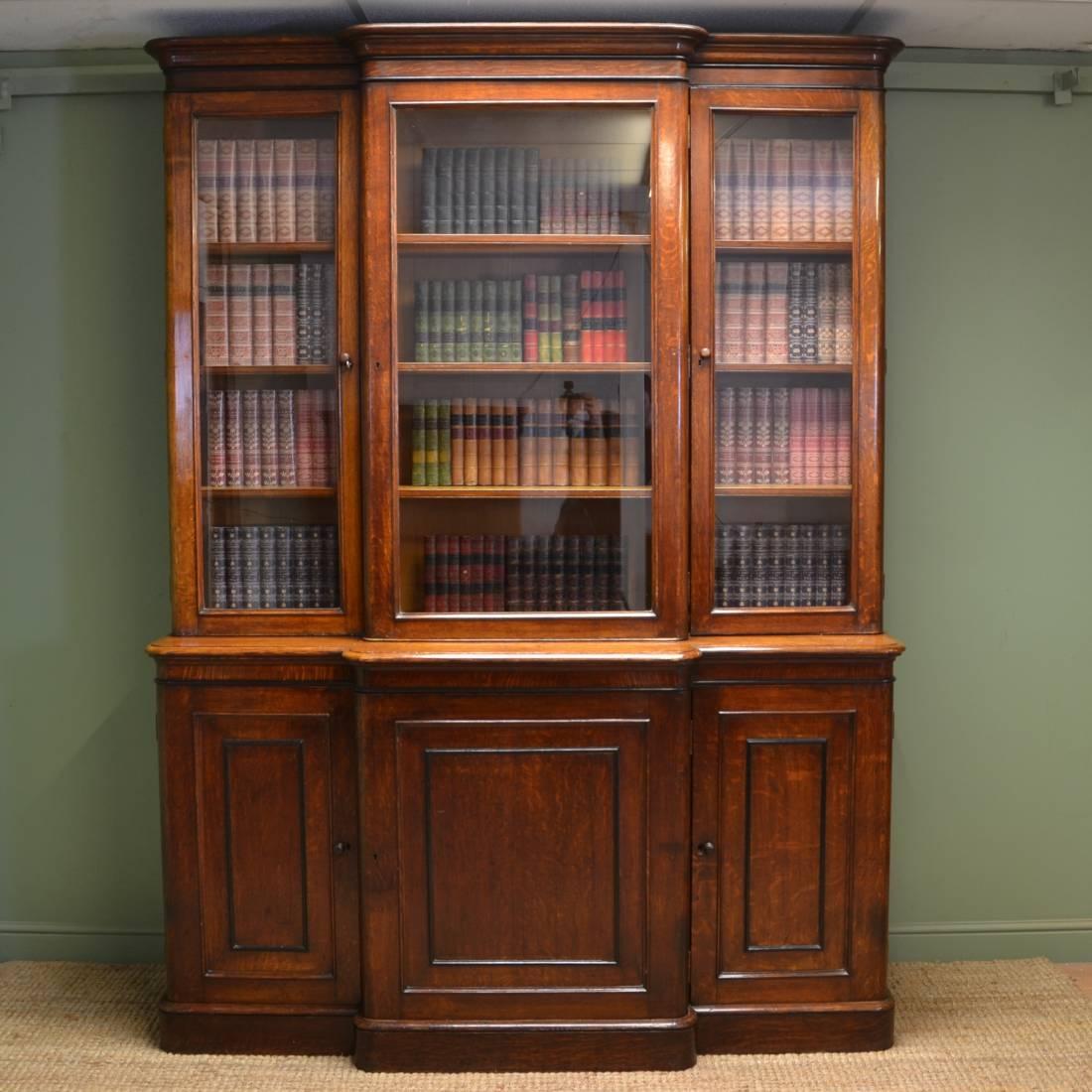 Popular Photo of Oak Library Bookcase
