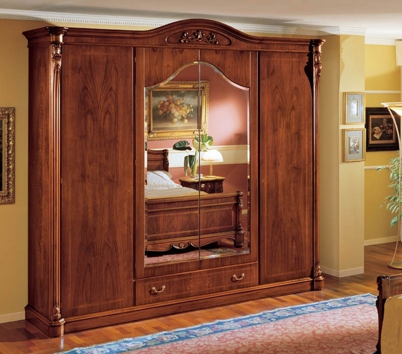 Large Wooden Wardrobes Wardrobe Designs Furniture Inside Large Wooden Wardrobes (#12 of 15)