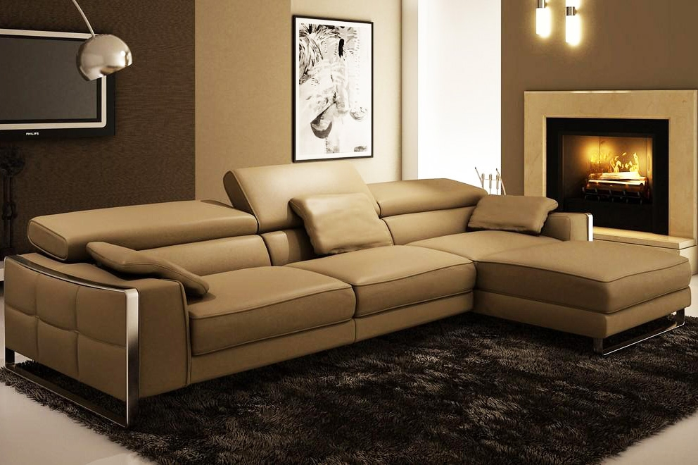 Popular Photo of Leather Sofa Sectionals For Sale