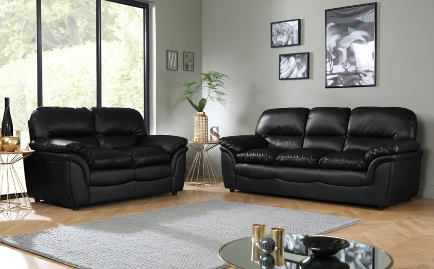 Leather Sofas 50 Off Free Delivery Online Furniture Choice Within Leather Sofas (#9 of 15)