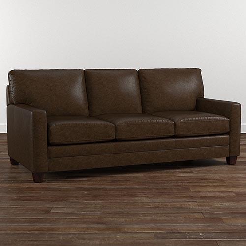 Leather Sofas Living Room Furniture Bassett Furniture With Leather Sofas (#13 of 15)