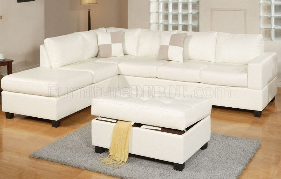 Leather Sofasleather Sectional Sofa Within Cream Sectional Leather Sofas (#11 of 15)