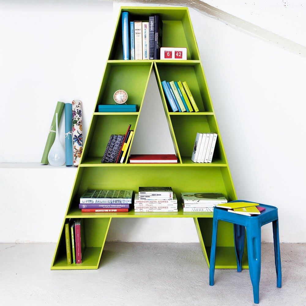 Letter A Shaped Bookcase For Childrens Room With Regard To Childrens Bookcases (#11 of 15)