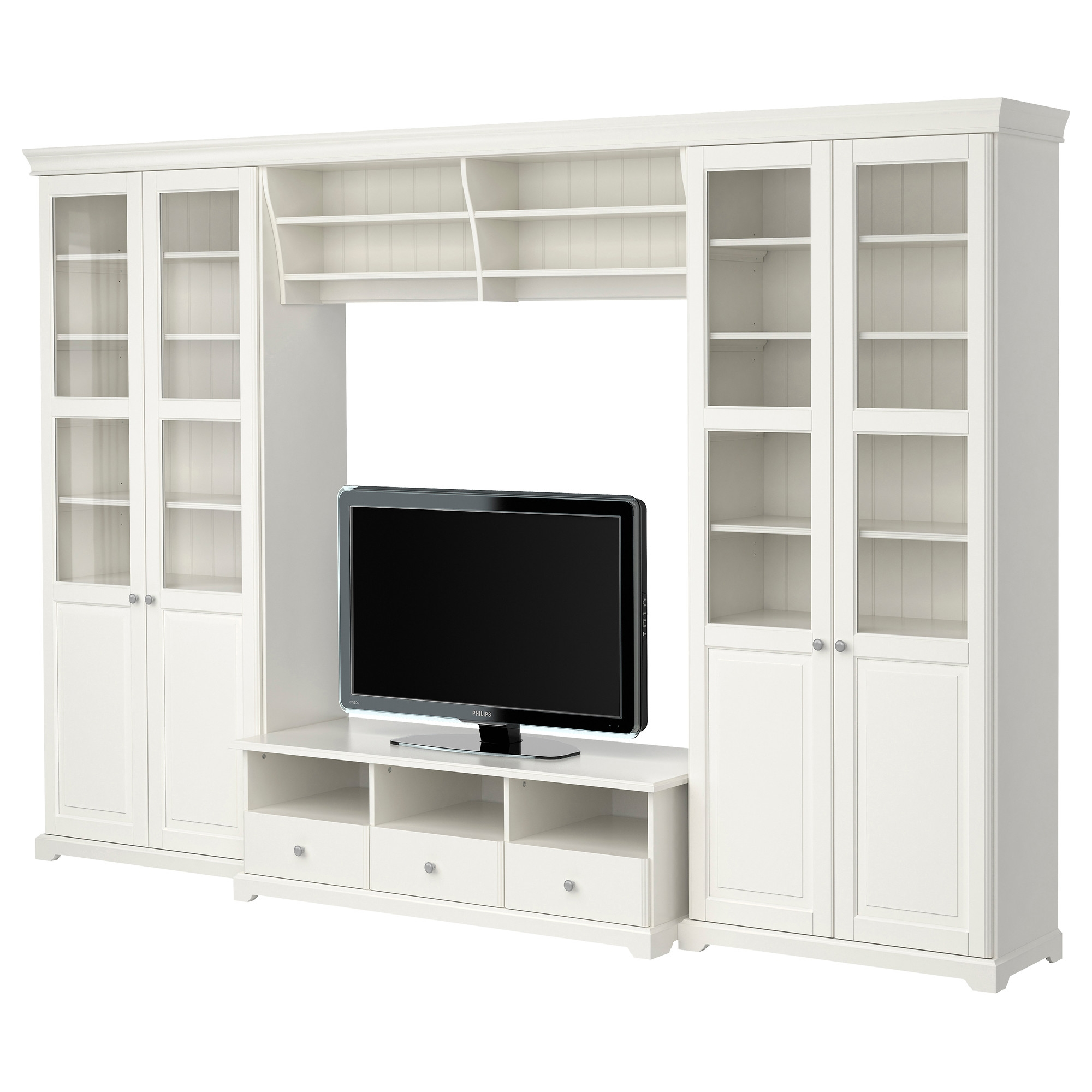 Liatorp Tv Storage Combination White 337×214 Cm Ikea With Tv Bookcase Combination (#10 of 15)