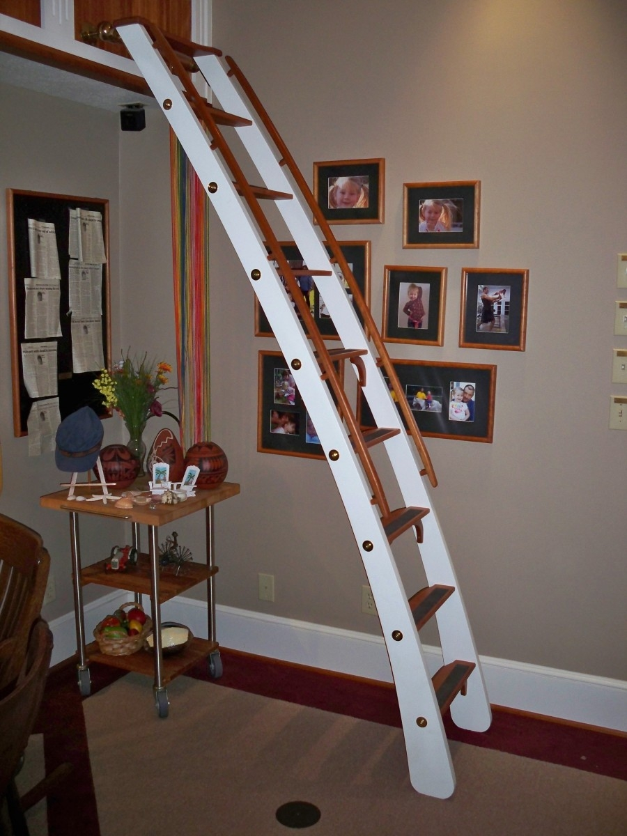 Library Ladders Designs Ideas Optimizing Home Decor Ideas With Library Ladder Kit (View 10 of 15)