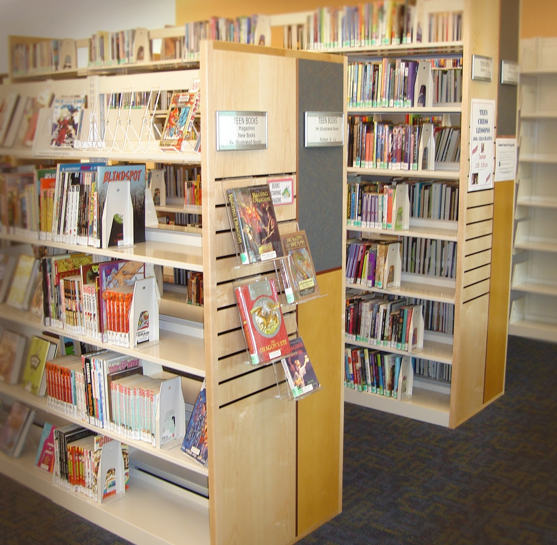 Library Shelving Embury Ltd Throughout Library Shelfs (View 6 of 15)