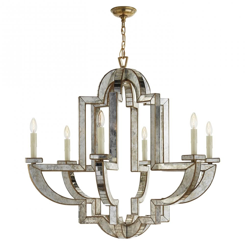 Inspiration about Lido Large Chandelier In Antique Mirror And Hand 2mxnx  Bright With Antique Mirror Chandelier - Viewing Photos Of Antique Mirror Chandelier (Showing 3 Of 12 Photos)