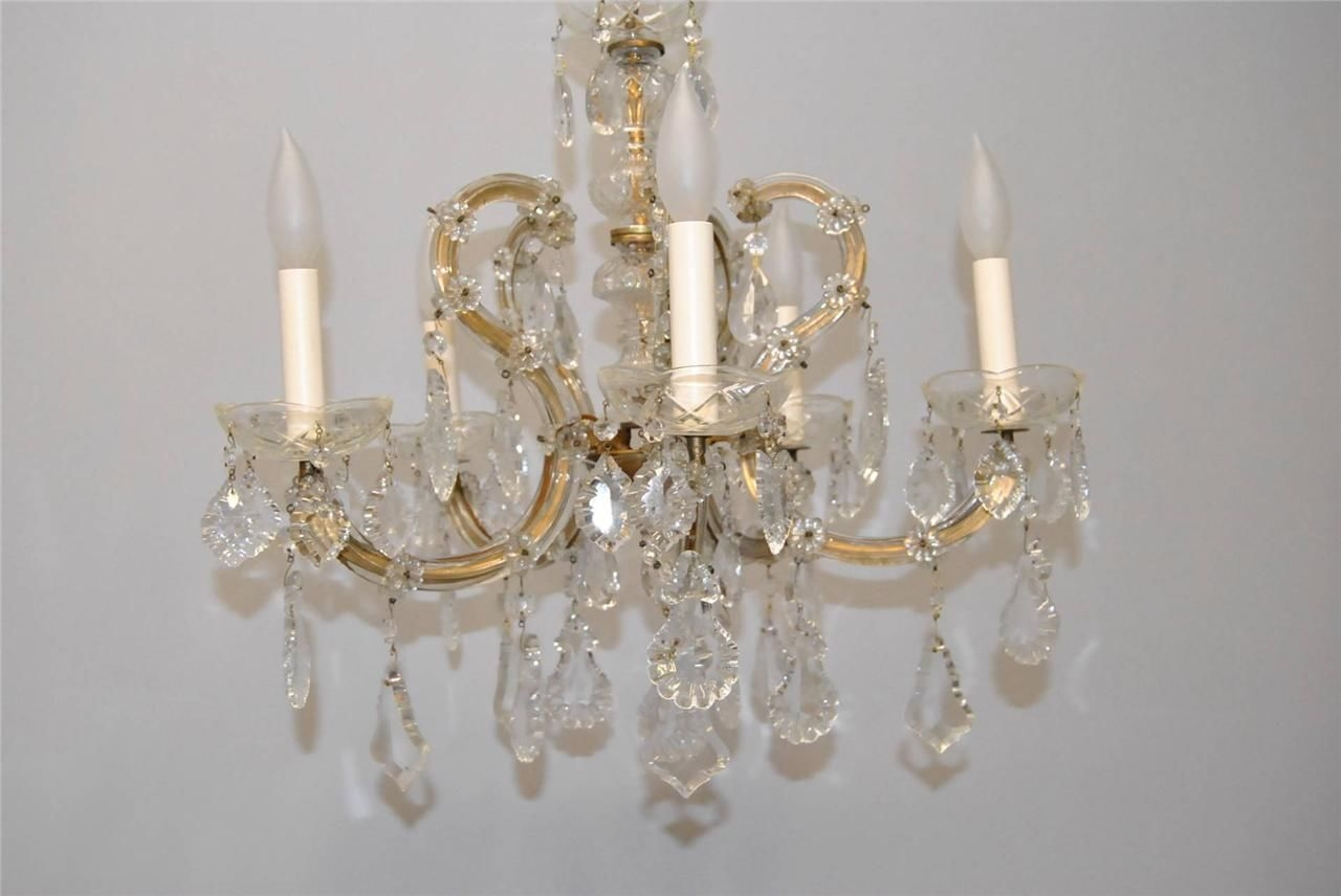 Lighting Gorgeous Accessories For Home Interior Decoration With In Vintage Italian Chandelier (#7 of 12)
