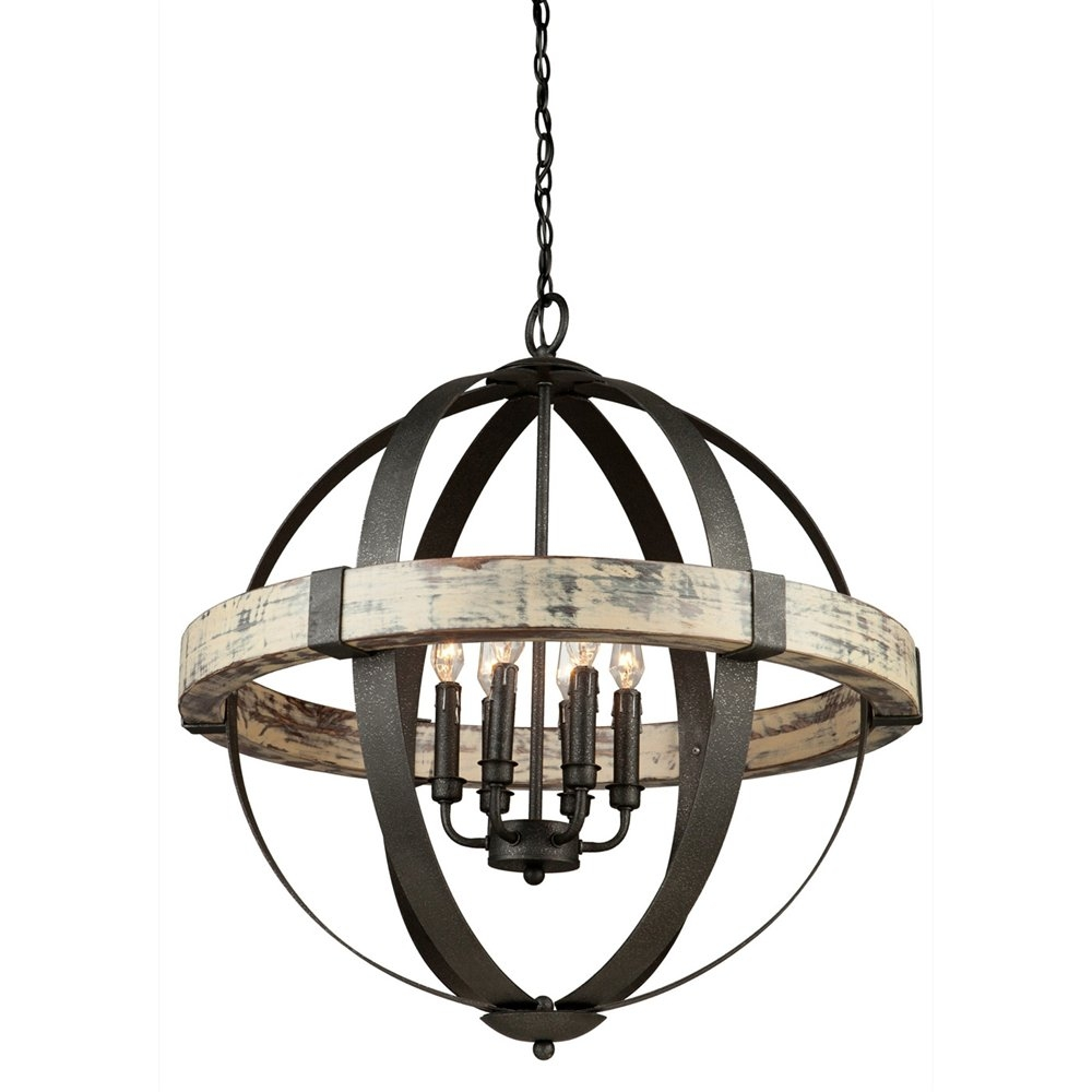 Lighting Metal Sphere Chandelier For Dining Room Decorating Ideas Pertaining To Metal Sphere Chandelier (#8 of 12)