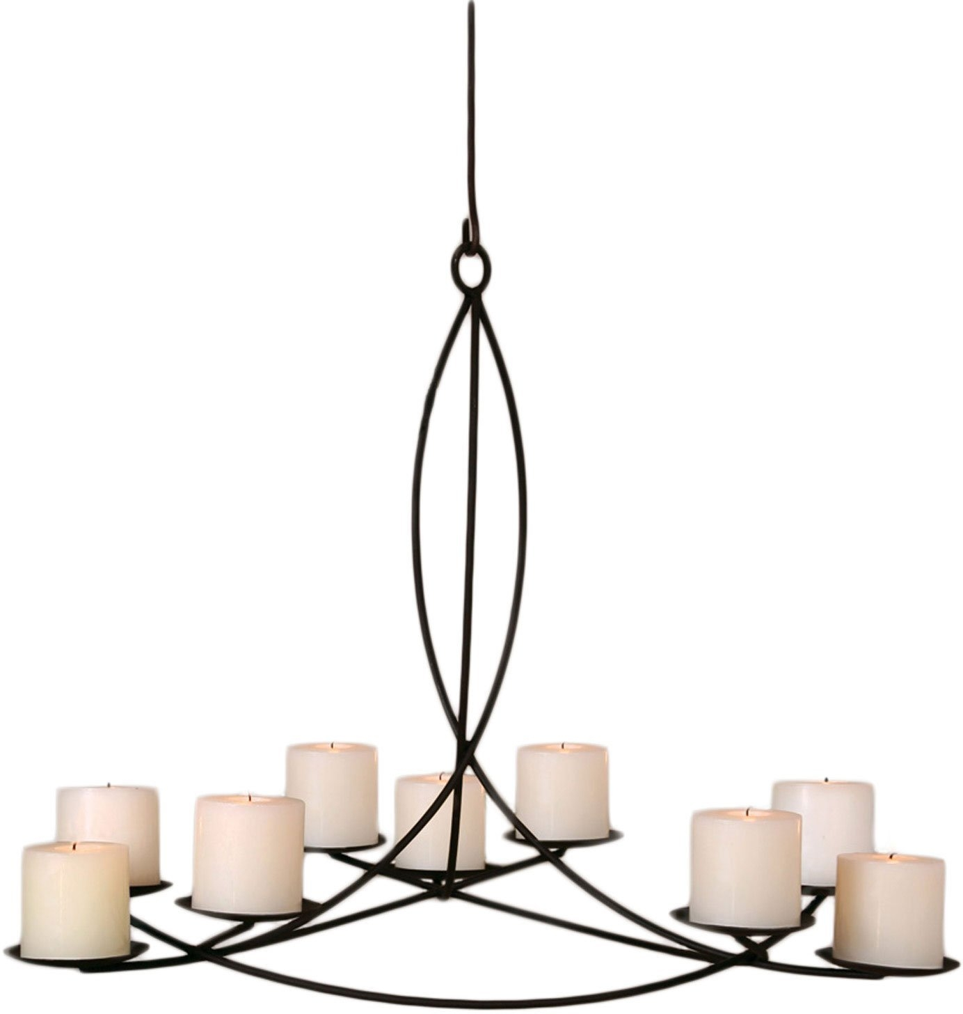 Lighting Wonderful Candle Chandelier Non Electric For Modern For Candle Chandelier (#6 of 12)