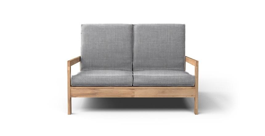 Lillberg 2 Seater Sofa Cover Beautiful Custom Slipcovers With Regard To Lillberg Sofa Covers (#6 of 15)