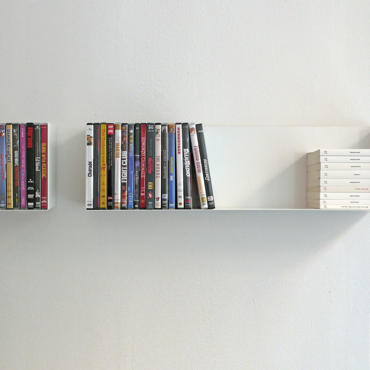 Linea1 A Paperback And Dvd Shelf In The Shop Within Invisible Dvd Shelf (#12 of 12)