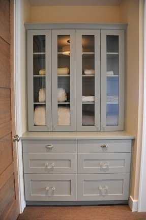 Linen Cabinet With Drawers Foter Intended For Cupboard Drawers (#11 of 15)