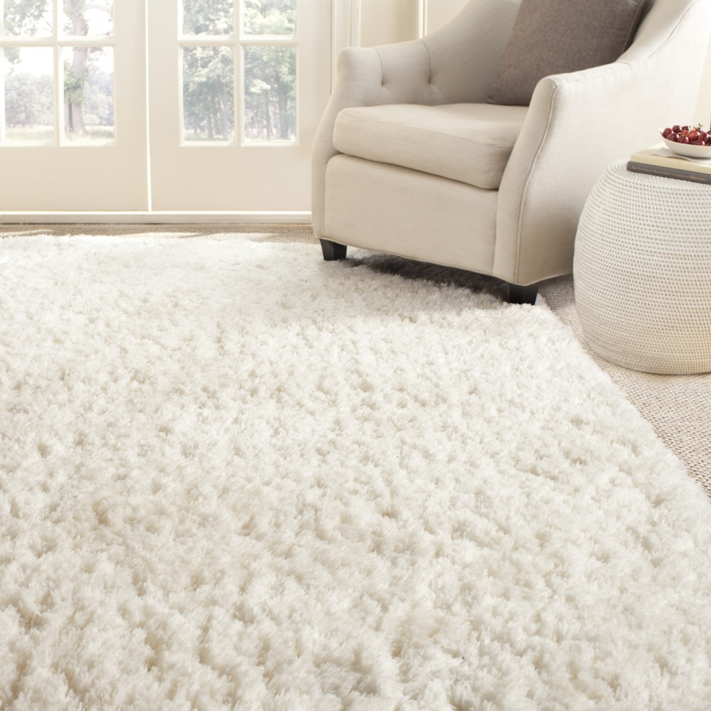 Living Room Charming Shag Area Rugs For Modern Home Interior Regarding Wool Shag Area Rug (#8 of 15)
