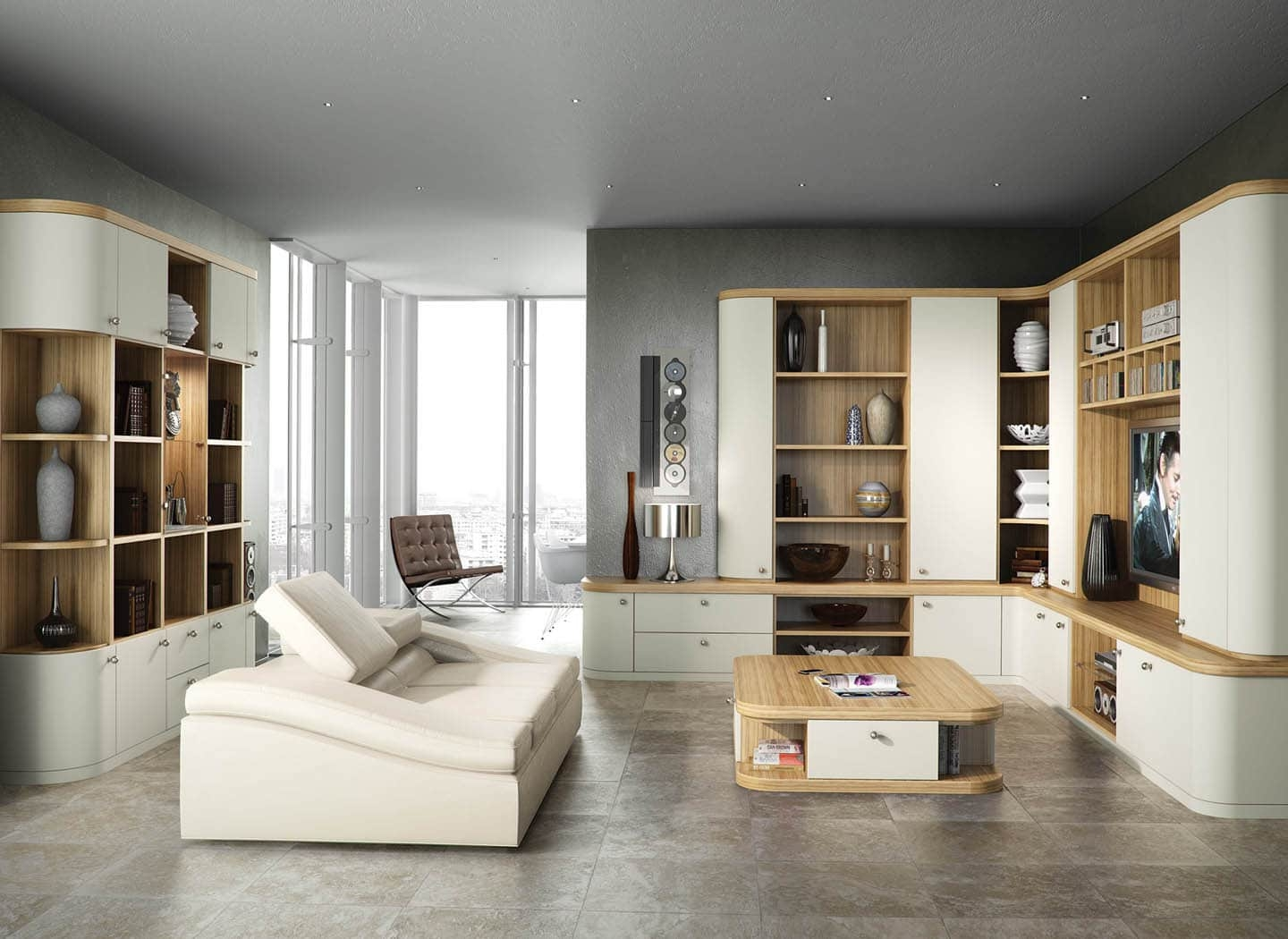Living Room Sets Furniture Clearance Modern Living Room Furniture With Fitted Living Room Cabinets (View 8 of 15)