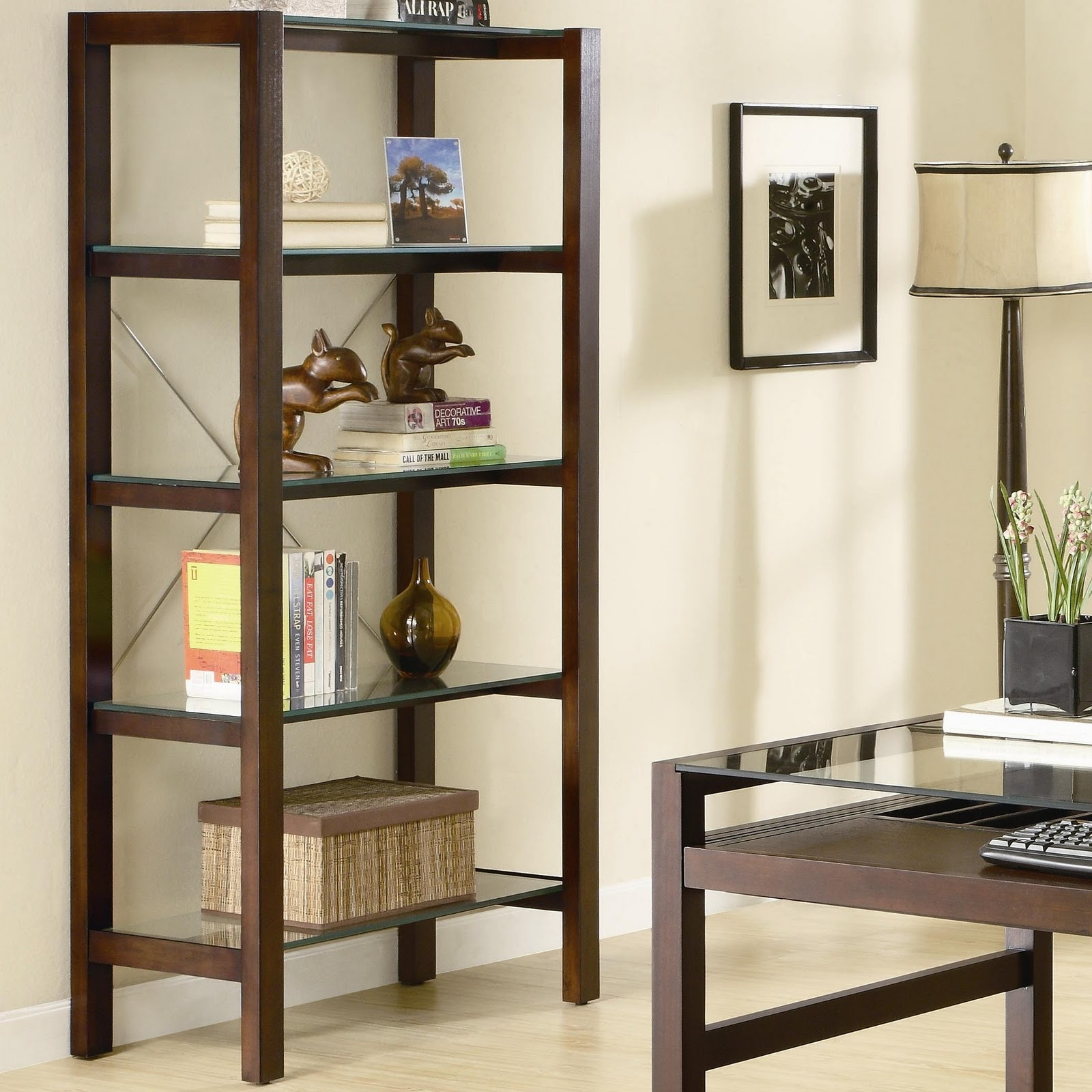 Living Room Shelving Units Inside Glass Shelves For Living Room (#9 of 12)