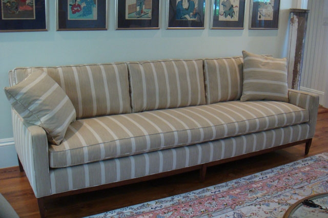 Long One Seat Cushion Sofa Dreams Upholstery Pertaining To One Cushion Sofas (View 13 of 15)