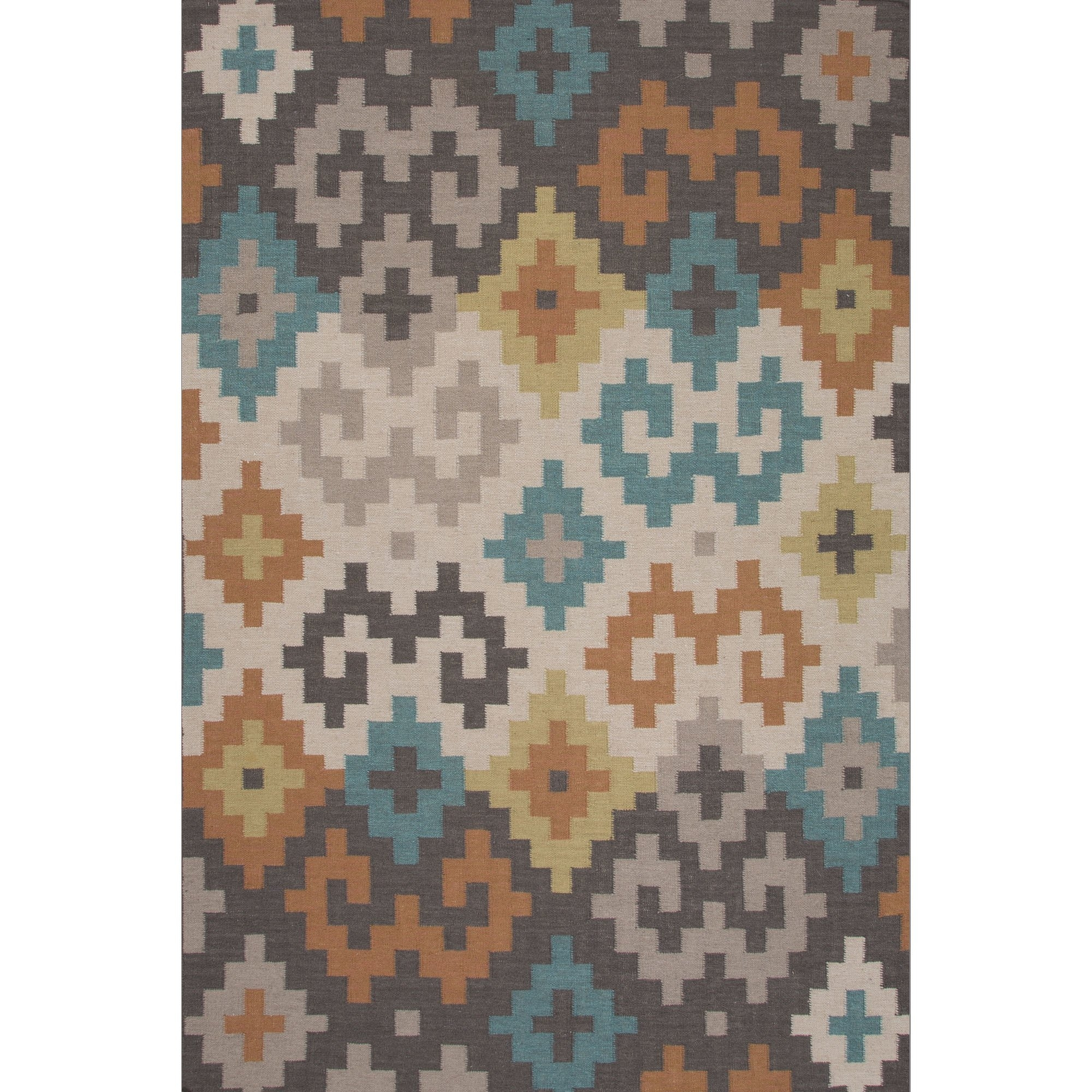Loon Peak Camarillo Flat Weave Wool Area Rug Reviews Wayfair Within Flat Weave Wool Area Rugs (#9 of 15)