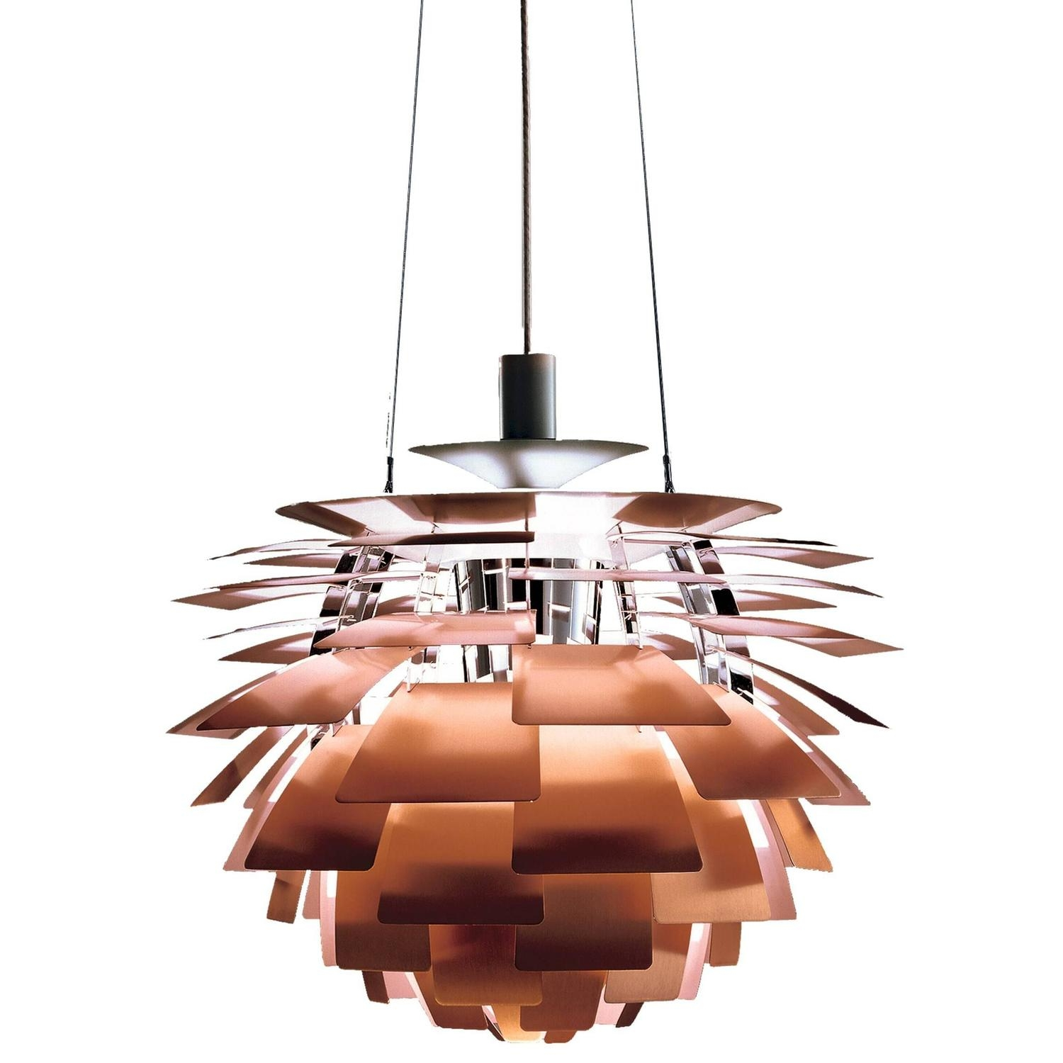 Louis Poulsen Chandeliers And Pendants 205 For Sale At 1stdibs With Regard To Copper Chandelier (#9 of 12)