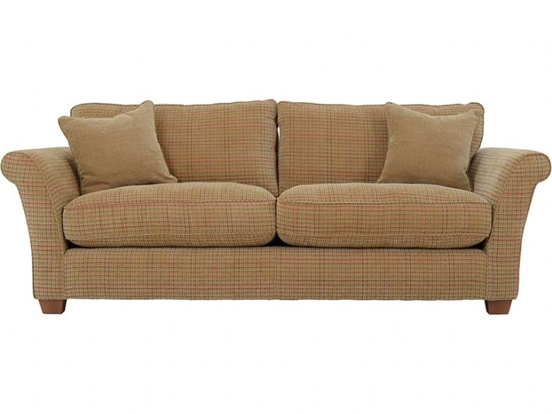 Louisa 4 Seater Casual Fabric Sofa Lee Longlands Within Tweed Fabric Sofas (#11 of 15)