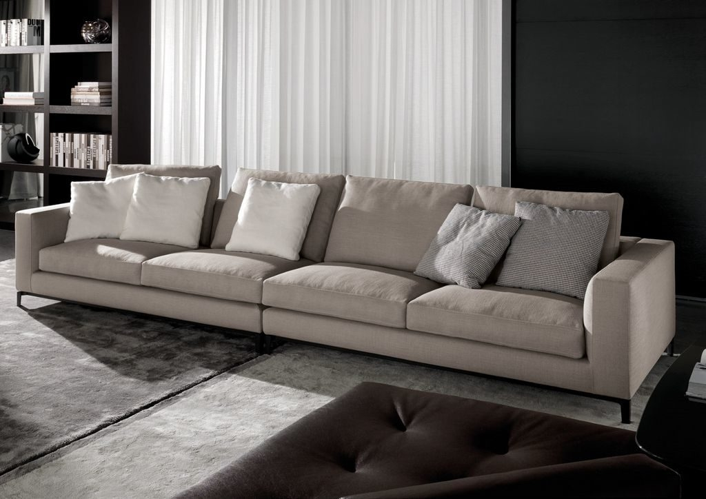 Lovely Extra Long Leather Sofa 51 Sofas And Couches Ideas With With Long Modern Sofas (#11 of 15)
