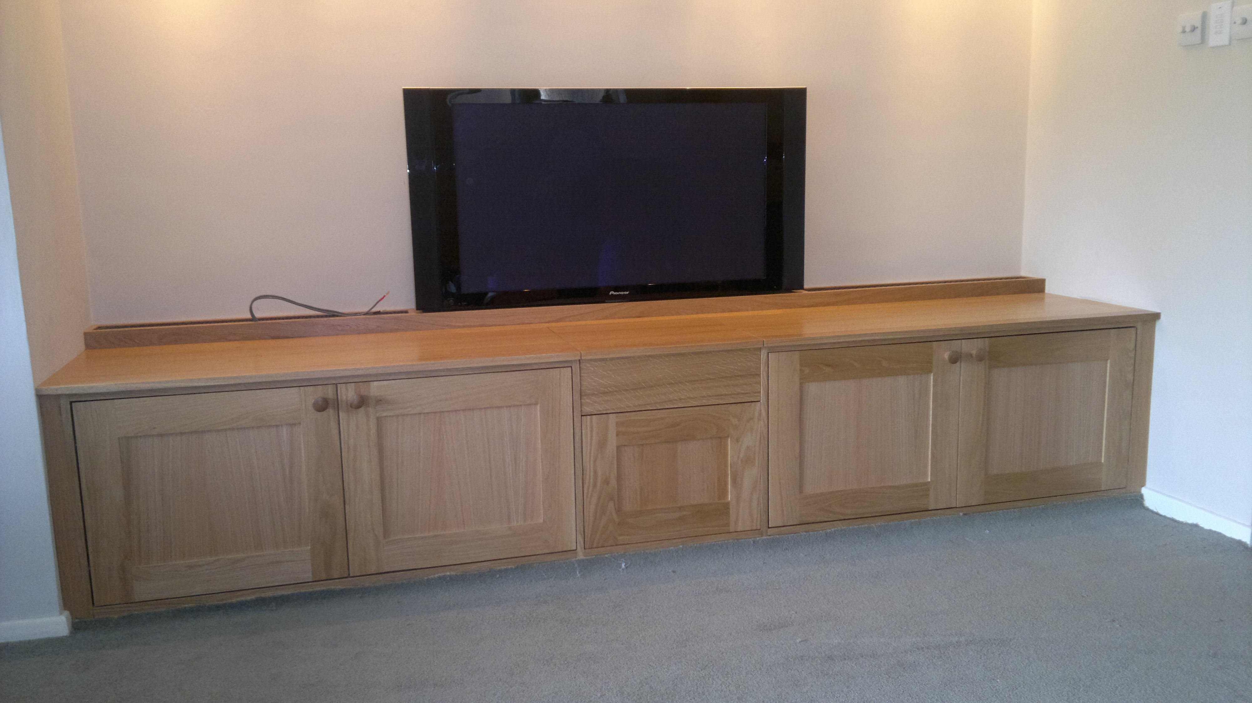 Low Level Tv Cabinet Tdk Joinery Bespoke Tvlcd Standstv Lifts With Regard To Bespoke Tv Cabinet (View 14 of 15)