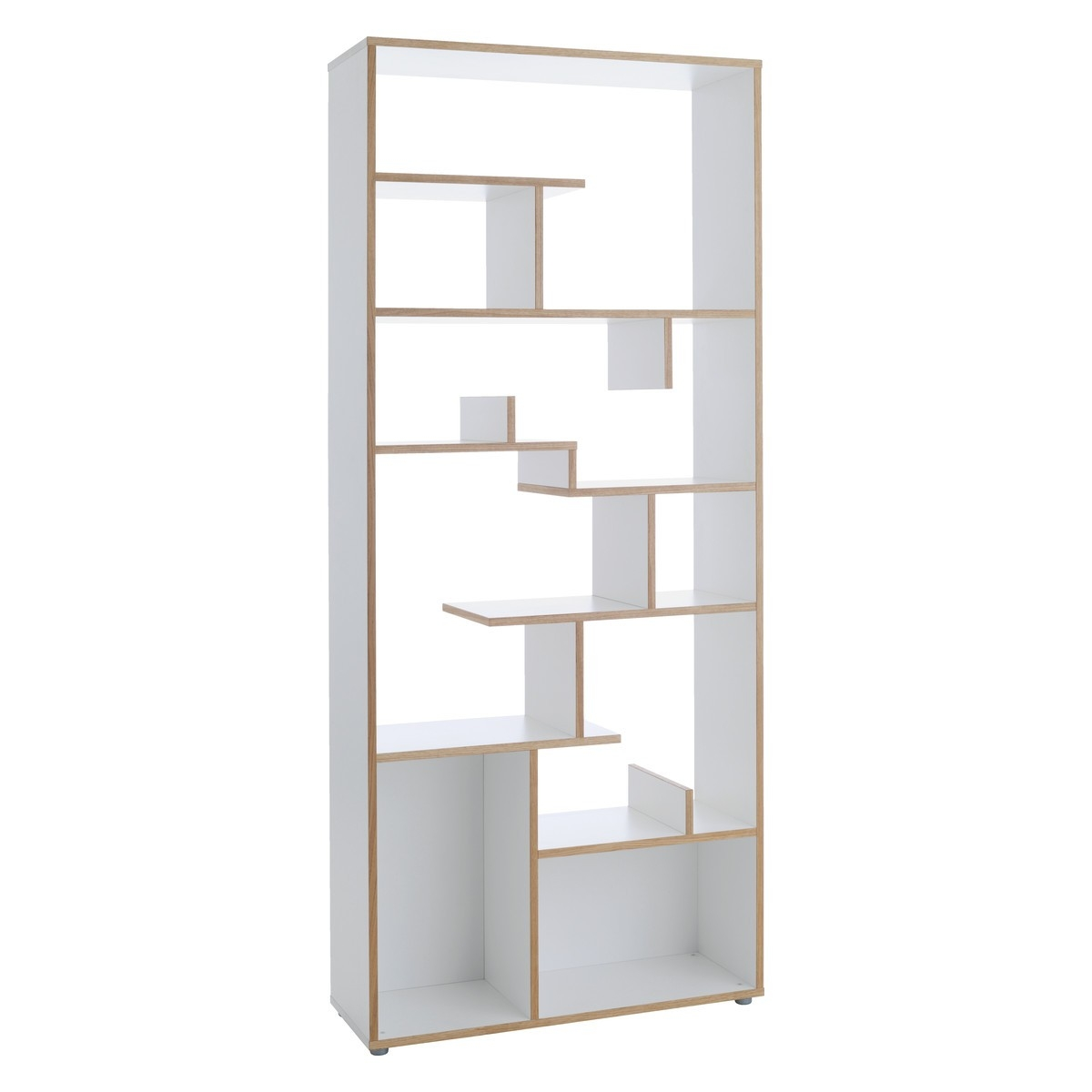 Ludo Tall White Oak Shelving Unit Buy Now At Habitat Uk Pertaining To White Shelving Units (#9 of 15)