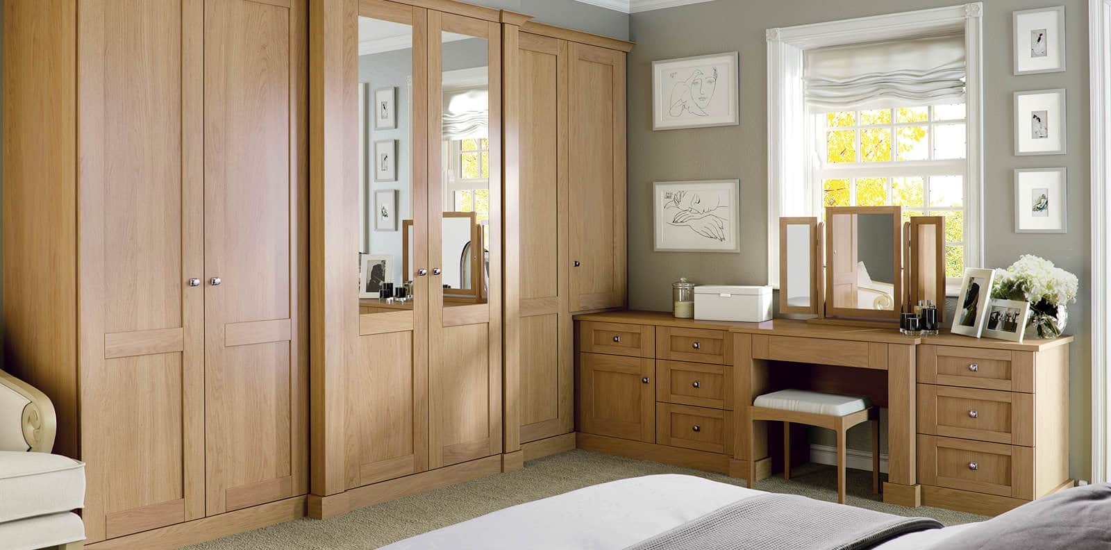 Luxury Fitted Bedroom Furniture Wardrobes Strachan For Fitted Cabinets (View 11 of 15)