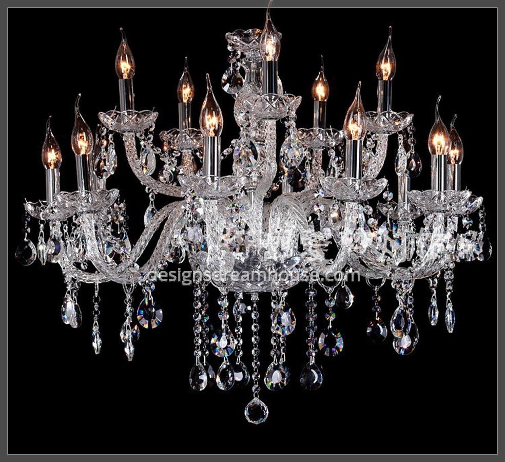 Luxury Smoke Grey Crystal Chandelier Home Design Gallery Pertaining To Grey Crystal Chandelier (#8 of 12)