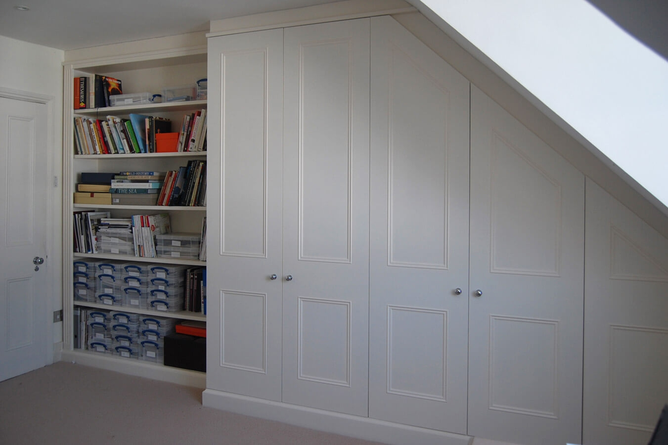 Made To Measure Home Offices Desks Drawers And Shelves Intended For Study Cupboards (Image 6 of 12)