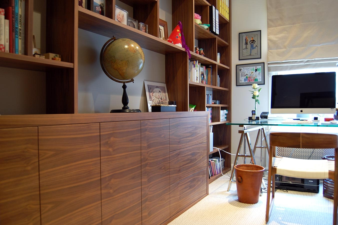 Made To Measure Home Offices Desks Drawers And Shelves Throughout Bespoke Study Furniture (#13 of 15)