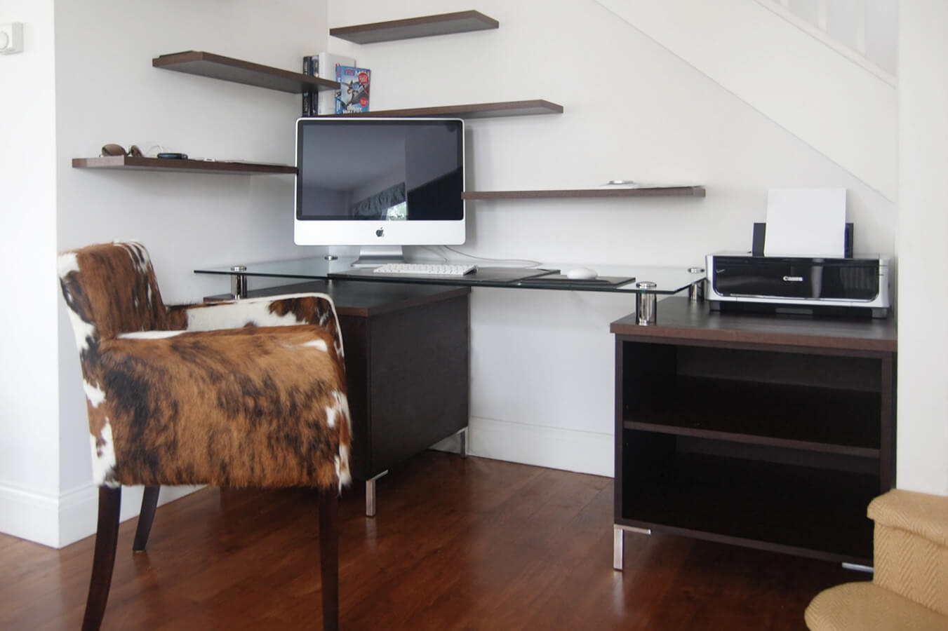 Made To Measure Home Offices Desks Drawers And Shelves Within Bespoke Study Furniture (#14 of 15)