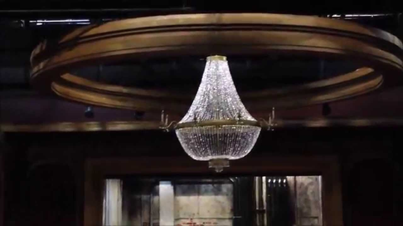 Making A Giant Chandelier Youtube Throughout Giant Chandeliers (#12 of 12)