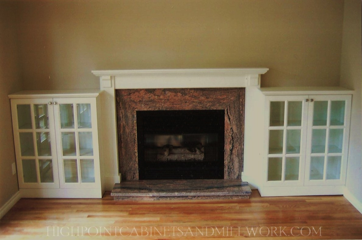 Mantle Ideas With Bookshelve Fireplace Built In Bookshelves Inside Built In Bookshelf Kits (#12 of 15)