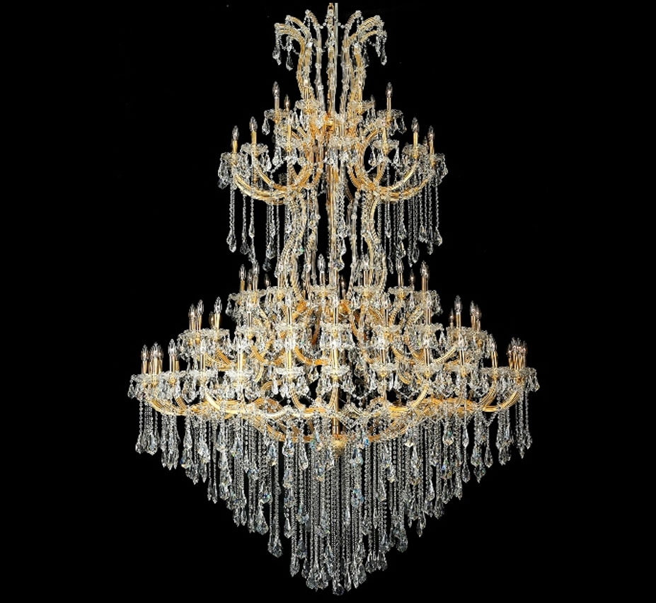 Maria Theresa Collection 85 Light Extra Large Crystal Chandelier Inside Extra Large Crystal Chandeliers (#9 of 12)