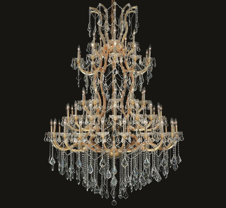 Maria Theresa Collection 85 Light Extra Large Crystal Chandelier Regarding Extra Large Crystal Chandeliers (#10 of 12)