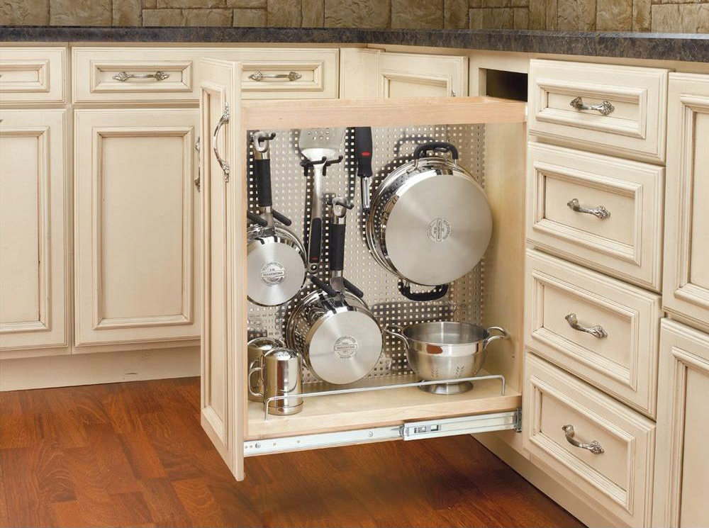 Maximize Your Cabinet Space With These 16 Storage Ideas Living Pertaining To Storage Racks For Kitchen Cupboards (#11 of 15)