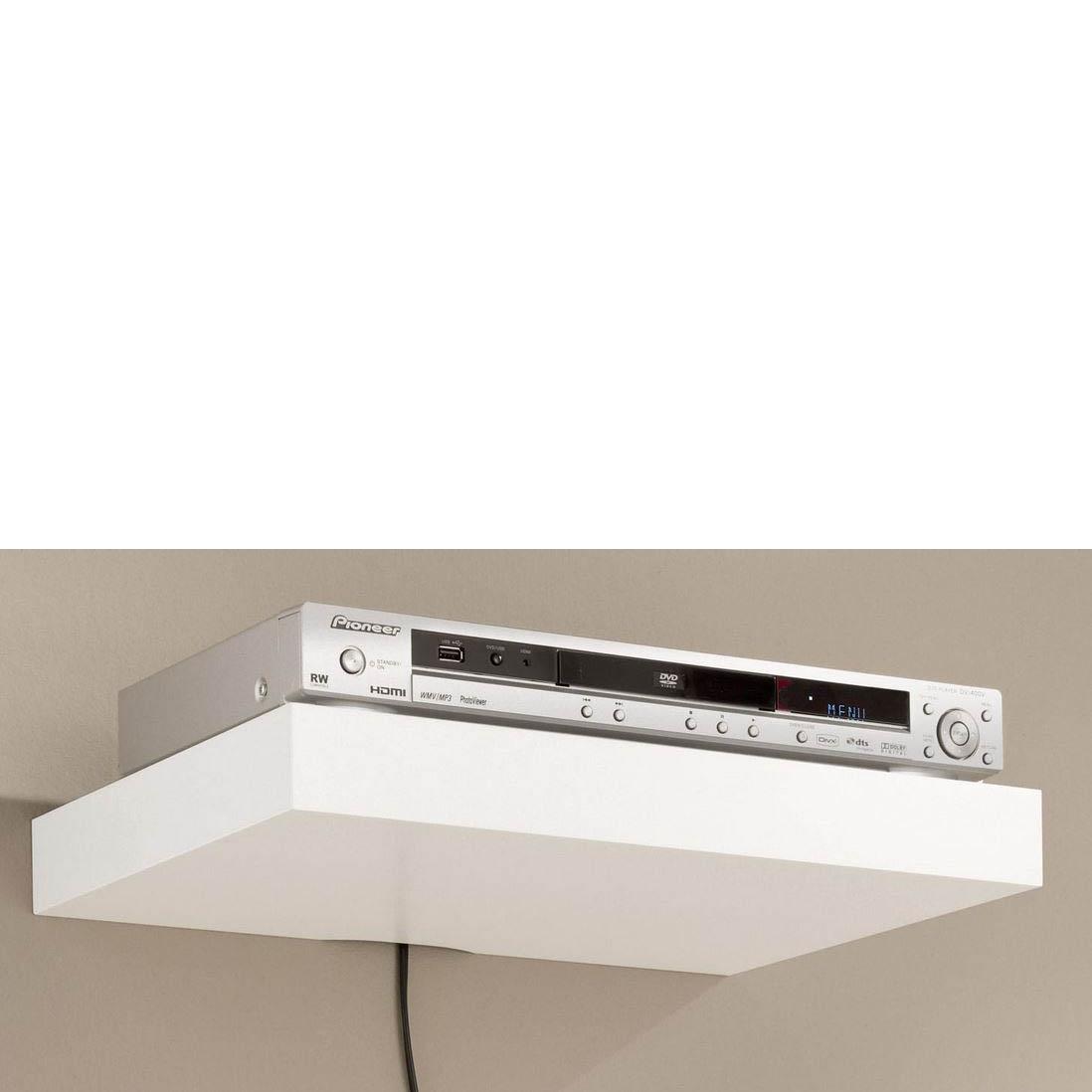 Media Shelving Kits Mastershelf With Floating Shelf 40cm (#8 of 15)