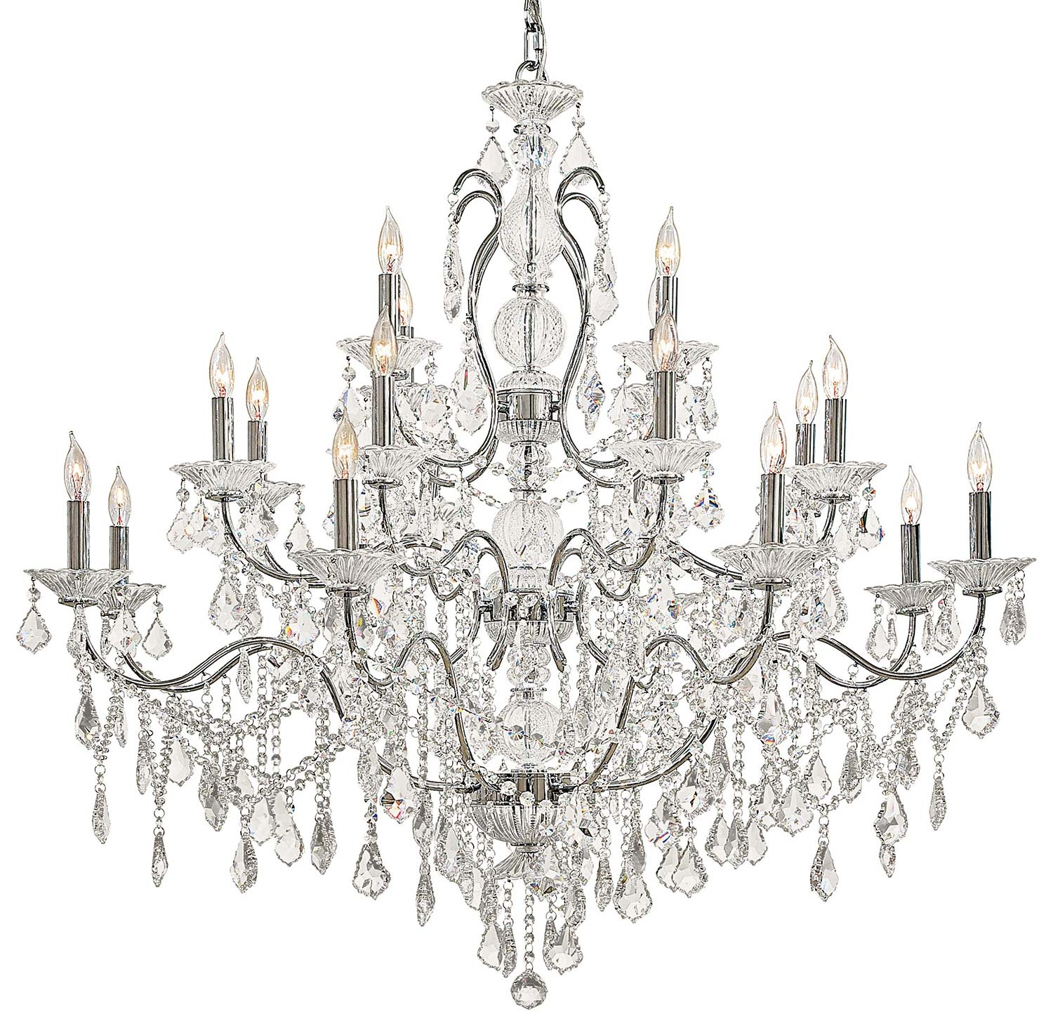 Metropolitan N8009 Vintagecrystal Collection Chandelier Traditional With Chandeliers Vintage (#6 of 12)