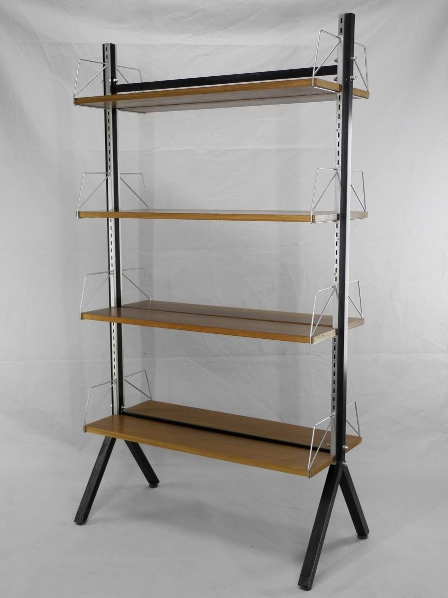 Mid Century Freestanding Bookcase For Sale At Pamono With Regard To Freestanding Bookcase (#12 of 15)