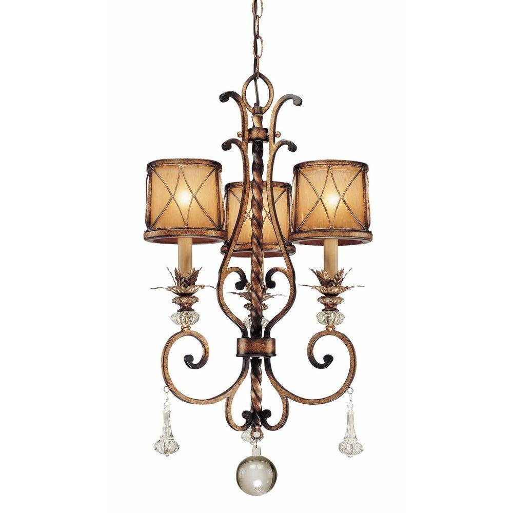 Minka Lavery 5 Light Aged Kinston Bronze Mini Chandelier 3135 298 Within Small Bronze Chandelier (#8 of 12)