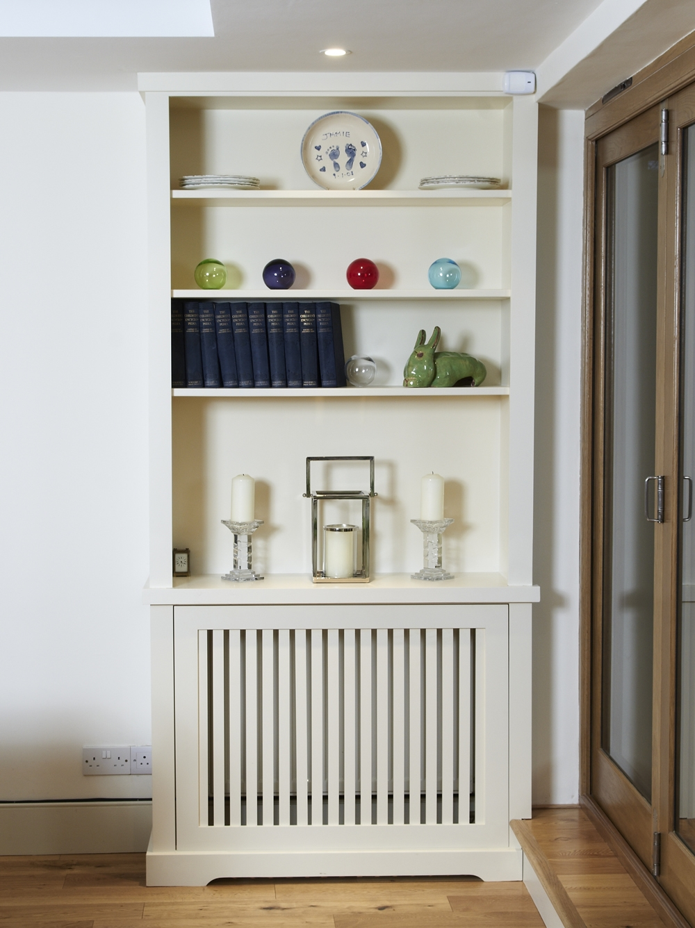 Modern And Classic Handbuilt Bookcases London Alcove Company With Regard To Radiator Cover Shelf Unit (#8 of 15)