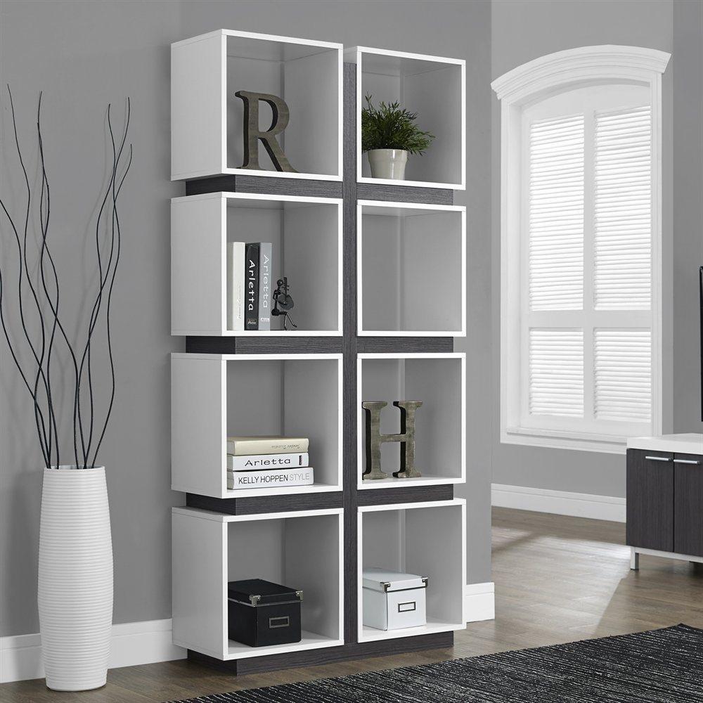 Modern Book Case Throughout Modern Bookcase (#8 of 15)