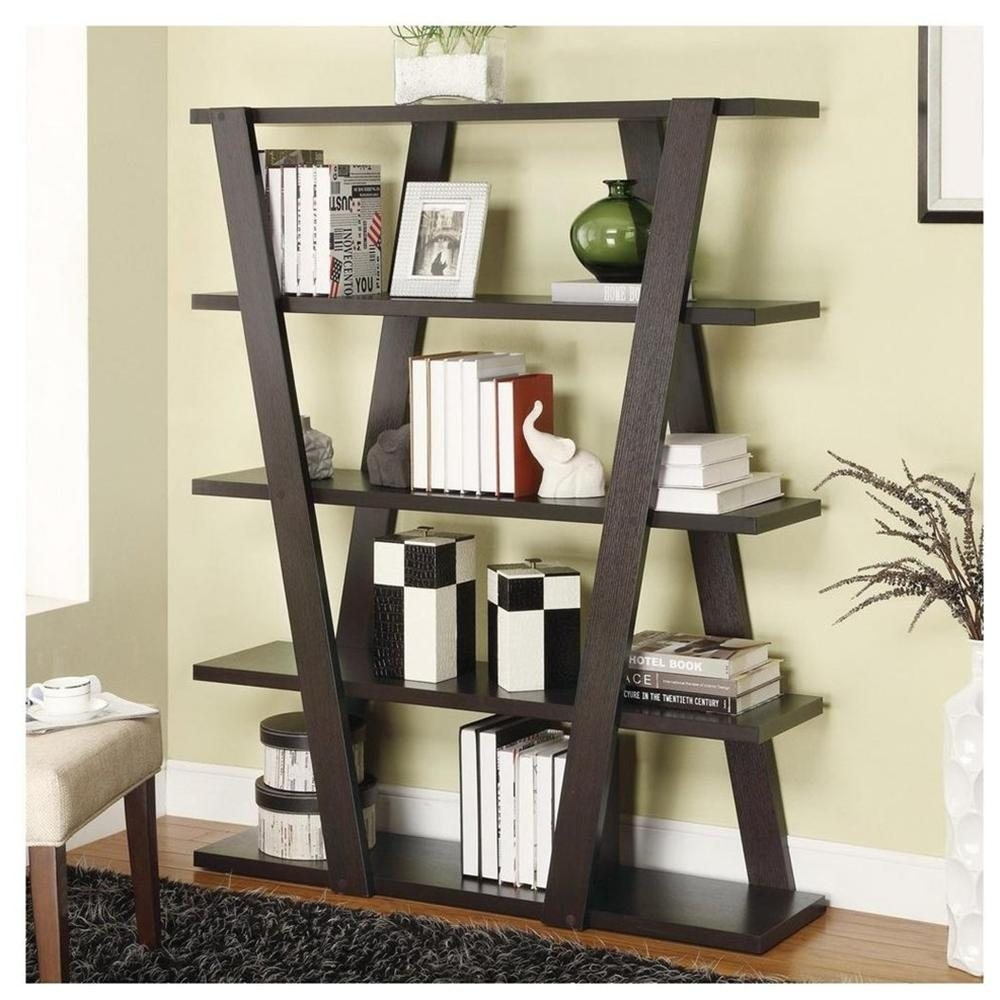 Modern Bookcase Also With A Small Modern Bookshelf Also With A Regarding Modern Bookcase (#10 of 15)