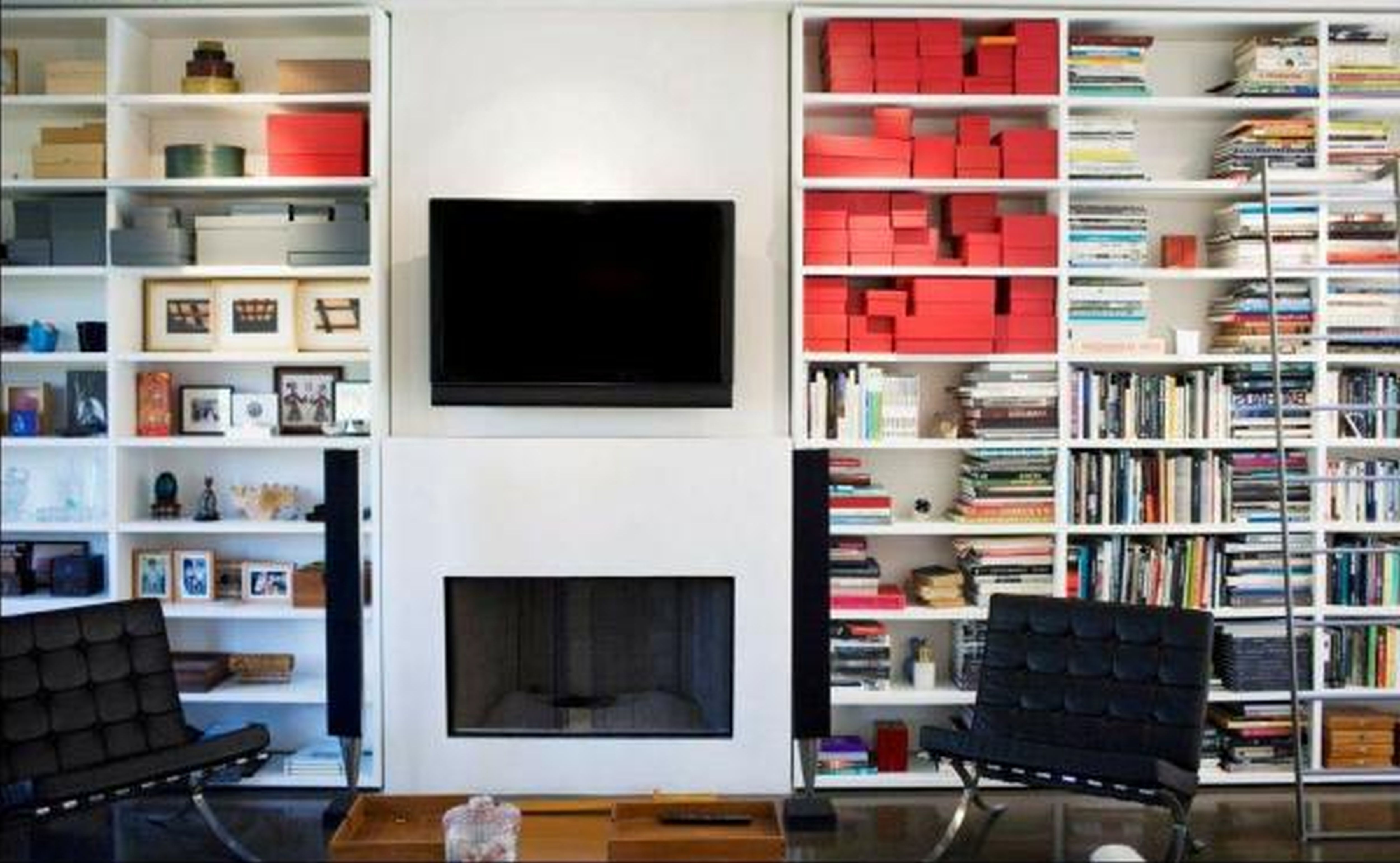 Modern Bookshelf Wall Design Pictures Stunning Home Design Pertaining To Built In Bookcase Kit (#12 of 15)