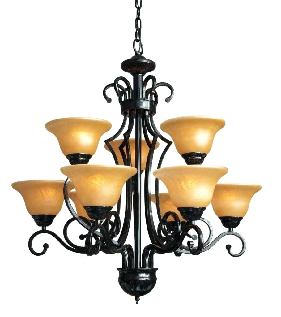Modern Brushed Nickel Chandelier Antique Wrought Iron Chandelier With Regard To Modern Wrought Iron Chandeliers (#7 of 12)